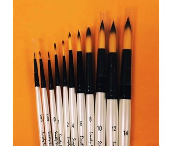 SIMPLY SIMMONS WATERCOLOUR BRUSH ROUND 0