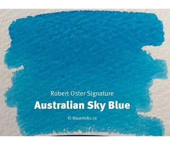 ROBERT OSTER INK 50ML Australian Sky Blue