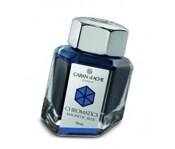 CARAN D'ACHE INK GENVE CHROMATICS INKREDIBLE COLORS MAGNETIC BLUE