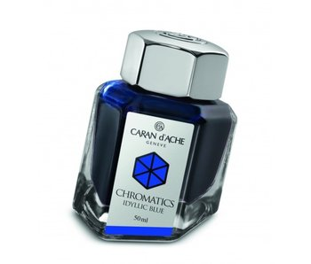 CARAN D'ACHE INK GENVE CHROMATICS INKREDIBLE COLORS IDYLLIC BLUE