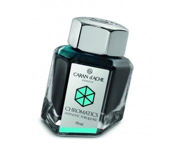 CARAN D'ACHE INK GENVE CHROMATICS INKREDIBLE COLORS HYPNOTIC TURQUOISE