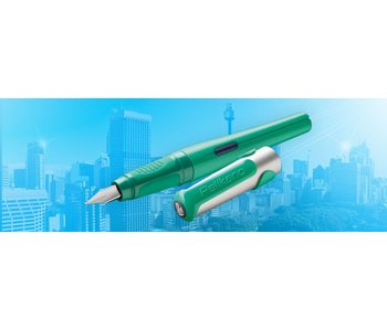 PELIKAN P481L PELIKANO SCHOOL FOUNTAIN PEN GREEN M
