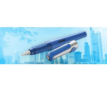 PELIKAN P481L PELIKANO SCHOOL FOUNTAIN PEN BLUE M