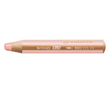 STABILO WOODY 3 IN 1 PENCIL 355 FLESH PINK