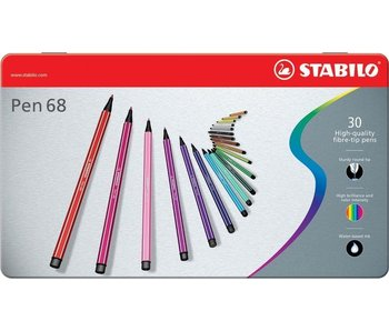 STABILO POINT 68 SET 30PK TIN