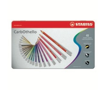 STABILO CARBOTHELLO CHALK PASTELS 48PK SET