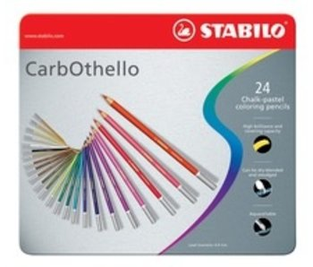 STABILO CARBOTHELLO CHALK PASTELS 24PK SET
