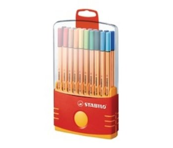 STABILO POINT 88 PEN COLOR PARADE 20PK SET