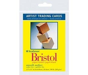 STRATHMORE ARTIST TRADING CARD BRISTOL 20PK