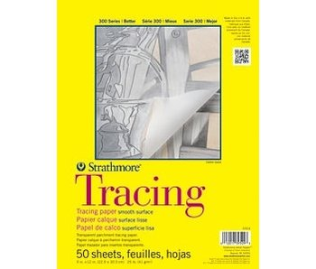 STRATHMORE TRACING PAD 9x12 50 SHEETS