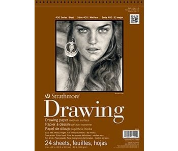 STRATHMORE DRAWING PAD 8x10 24 SHEETS
