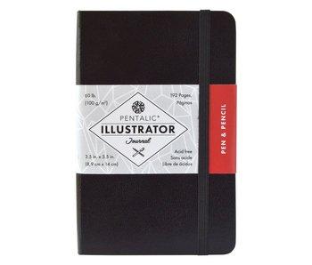 PENTALIC ILLUSTRATOR'S SKETCHBOOK 3.5x5.5 BLACK