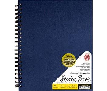 PENTALIC SKETCH BOOK 8.5x11 BLUE