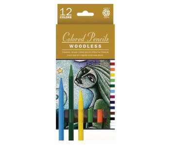 PENTALIC WOODLESS COLORED PENCILS 12PK