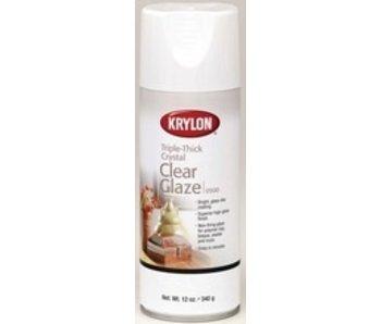 KRYLON TRIPLE-THICK CRYSTAL CLEAR GLAZE 11OZ