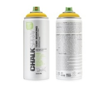 MONTANA CHALK SPRAY 400ML YELLOW