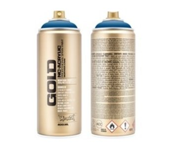 MONTANA GOLD SPRAY PAINT 400ML SIGNAL BLUE