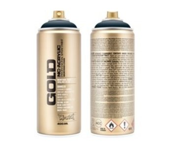 MONTANA GOLD SPRAY PAINT 400ML NAVY