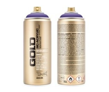 MONTANA GOLD SPRAY PAINT 400ML LAVENDER