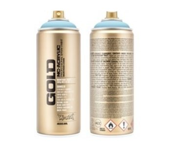 MONTANA GOLD SPRAY PAINT 400ML FRESH BLUE