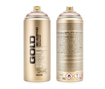 MONTANA GOLD SPRAY PAINT 400ML COPPERCHROME