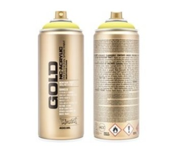 MONTANA GOLD SPRAY PAINT 400ML BUTTA