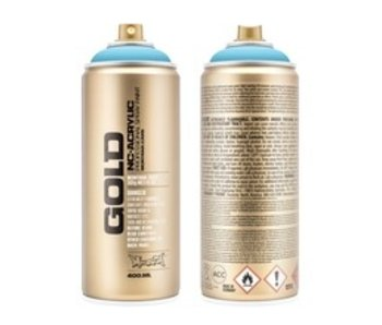 MONTANA GOLD SPRAY PAINT 400ML BABY BLUE