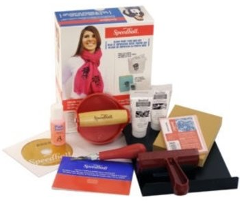 SPEEDBALL Ultimate Fabric & Paper Block Printing Kit,
