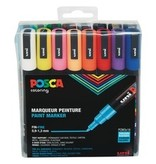 Posca Paint Marker 16 Colour Fine Set PC-3M