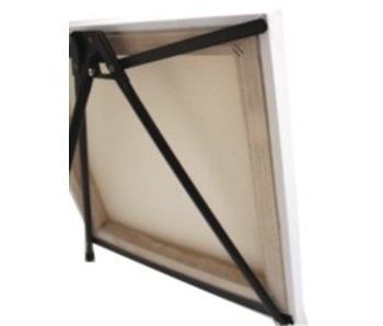 ART ALTERNATIVES MARIPOSE ALUMINUM TABLE EASEL