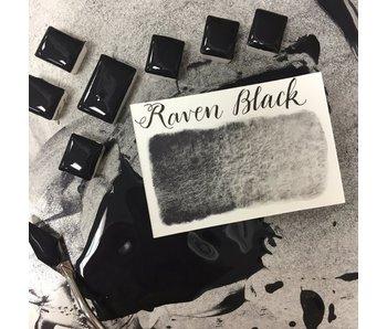STONEGROUND PAINT HALF PAN RAVEN BLACK