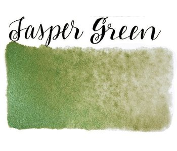 STONEGROUND PAINT HALF PAN JASPER GREEN