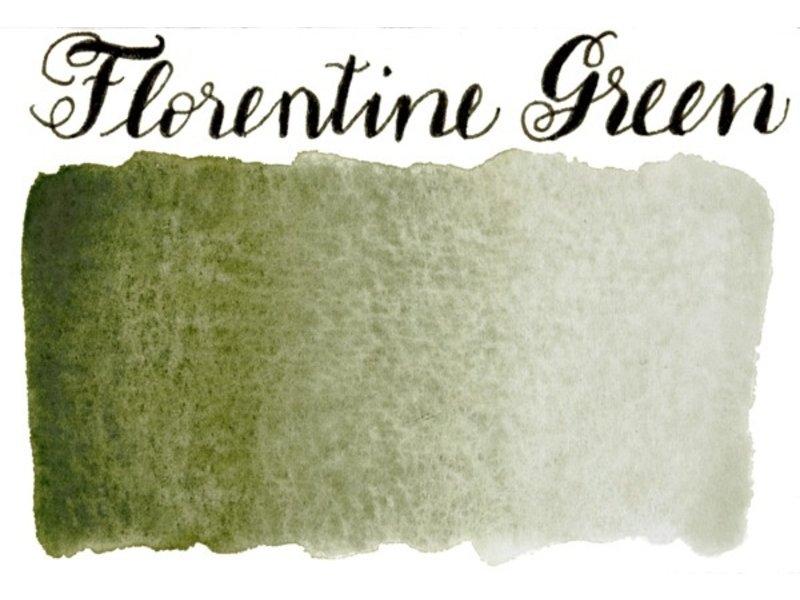 STONEGROUND PAINT HALF PAN FLORENTINE GREEN