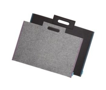 ITOYA PROFOLIO MIDTOWN BAG 17X23 GREY