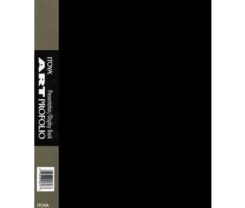 ITOYA ART PROFOLIO BLACK 8.5x11