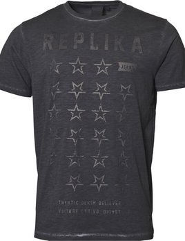 Replika Jeans Replika Jeans Faded printed  T-Shirt