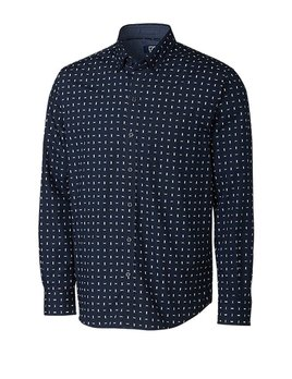 Cutter & Buck CB L/S FISHER PRINT