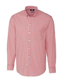 Cutter & Buck CB L/S STRETCH GINGHAM