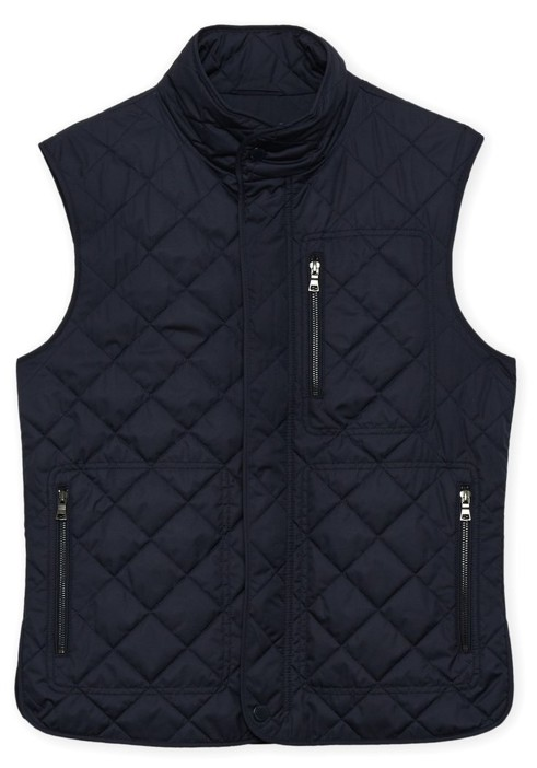 TAILORBYRD TAILORBYRD QUILTED VEST