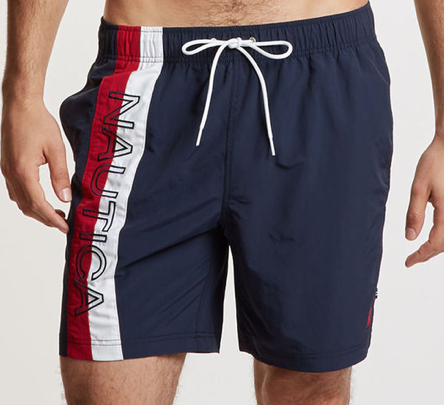 NAUTICA NAUTICA SURFWASHED SWIM TRUNK