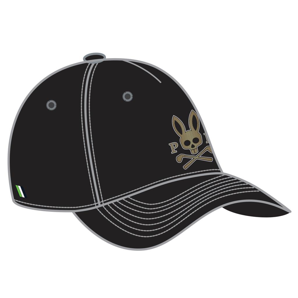 PSYCHO BUNNY PSYCHO BUNNY SPORT BASEBALL CAP