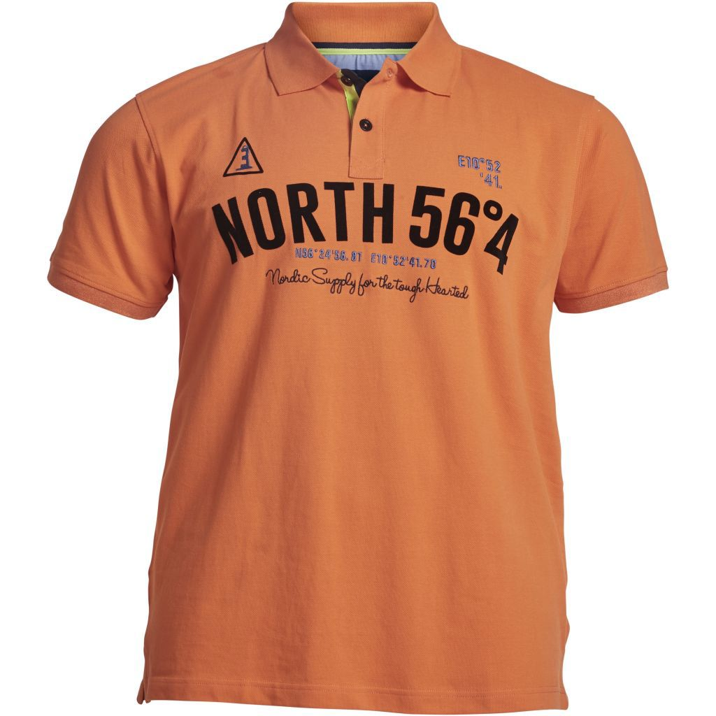 North 56.4 NORTH 56.4 POLO W/EMB AND PRINT