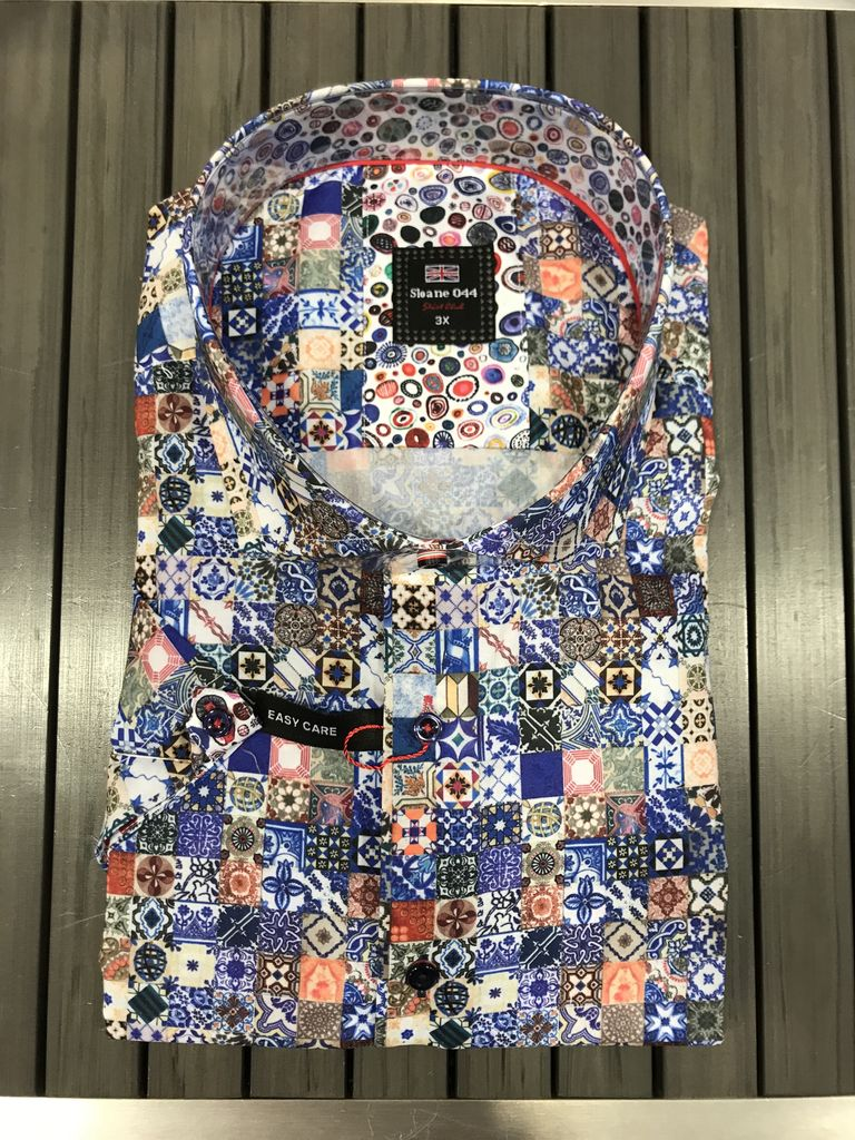7 Downie St. 7 DOWNIE ST. TILE S/S SHIRT