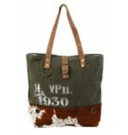 VINTAGE 1930 CANVAS TOTE BAG