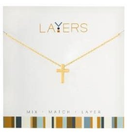 LAYERS NECKLACE GOLD 19.99 OR 2FOR$30