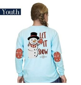 SIMPLY SOUTHERN SIMPLY SOUTHERN YOUTH L/S XMAS TEE