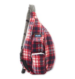 Kavu Plaid Rope Bag-Americana