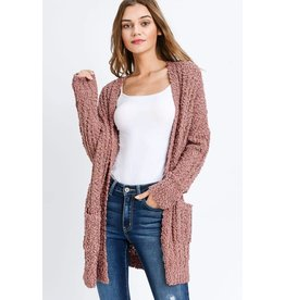 MIRACLE POPCORN SWEATER CARDIGAN