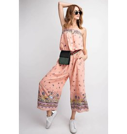 8325ff26ae2 PRINTED TUBE TOP WIDE LEG JUMPSUIT