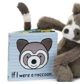 Jelly Cat BOOK - IF I WERE A RACCOON